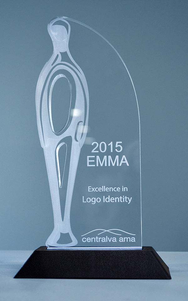 2015 Logo Identity Award Winner.