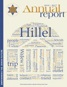 Brody Jewish Annual Report 1
