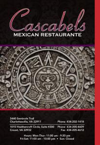Cascabels menu 1