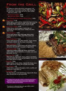 Cascabels menu 4