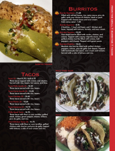 Cascabels menu 5