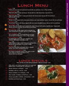 Cascabels menu 7