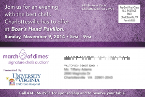 March of Dimes Postcard 2