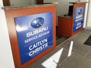 Subaru Desk