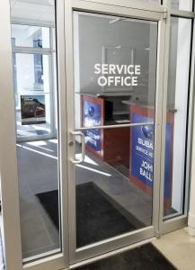 Subaru Office Door